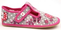 Barefoot slippers EF 395 Butterfly