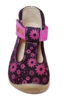 Barefoot Fare Bare prewalkers sandals Flowers